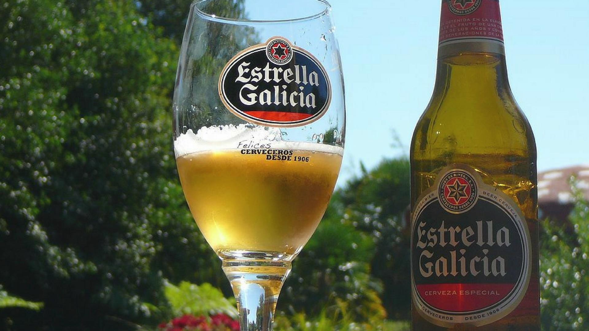 Estrella Galicia, la preferida de los usuarios de Facebook 1920
